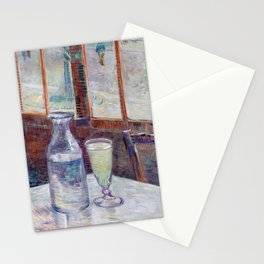 Vincent van Gogh Café Table with Absinth Stationery Cards