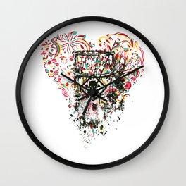 No Toxic Waste Wall Clock