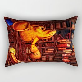 Mouse In The Magic Attic Rectangular Pillow