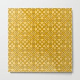 Eryn yellow Collection Metal Print