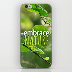 Embrace Nature iPhone & iPod Skin