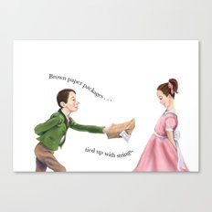 To my sweet heart Canvas Print