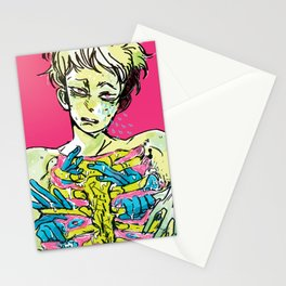 take a chill pill Stationery Cards