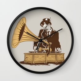 The Future In The Past Wall Clock