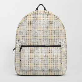 Classical beige cell. Backpack