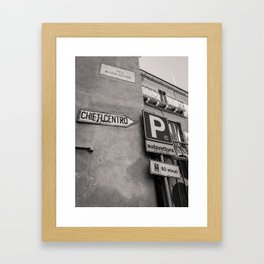 Chieti Centro Framed Art Print