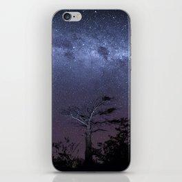 Milky way in Botswana's Bush iPhone Skin