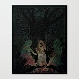 The Norns Canvas Print