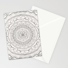 Black & White Lace Stationery Cards