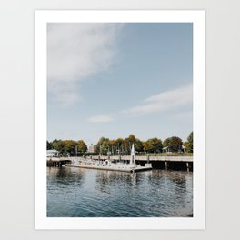 East Boston Sailing Park Art Print