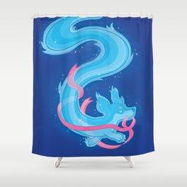 Jenna's Dachshund Shower Curtain