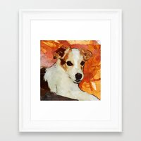 merlin Framed Art Prints featuring Merlin by © maya lavda / wocado