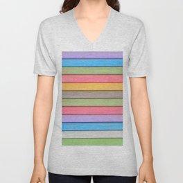 Rainbow Chalks Unisex V-Neck
