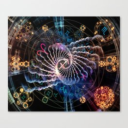 Astral Connection Canvas Print