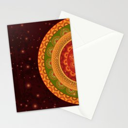 Indian Mandala Stationery Cards