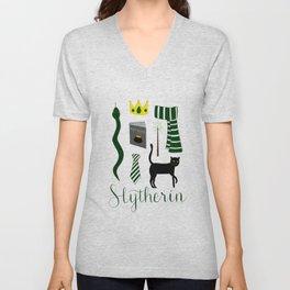 The House of Slytherin Unisex V-Neck