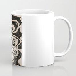 Distressed Fleur-de-Lis Coffee Mug
