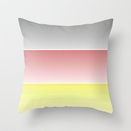 Flag of Germany  - With color gradient Throw Pillow