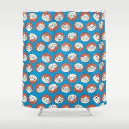 Pattern Project #13 / Mood Swings Shower Curtain