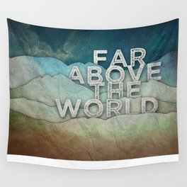 Far Above Wall Tapestry