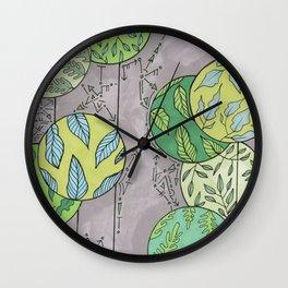 Nature is Abundant Wall Clock