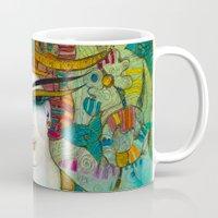 aquarius Mugs featuring AQUARIUS by ALBENA