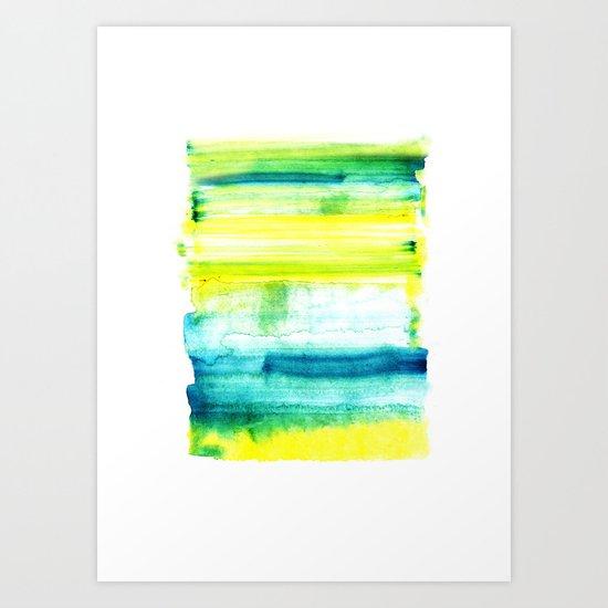 Swimming Upstream Art Print