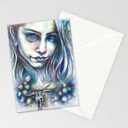 Blueberry Binge Stationery Cards