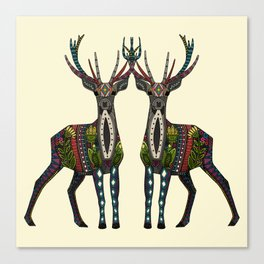 deer vanilla Canvas Print
