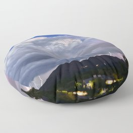 Fading Distant Hopes Floor Pillow