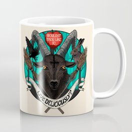 Black Phillip (The Witch) Coffee Mug