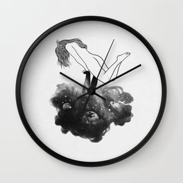 Hands from heaven. Wall Clock