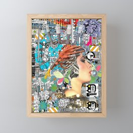 Pop UP - ONE Framed Mini Art Print