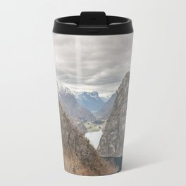 Fjords in Norway Travel Mug