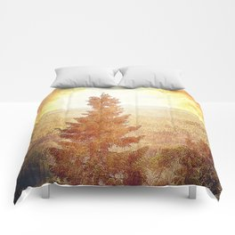 Vintage Forest Nature Comforters