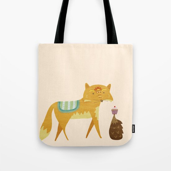 The Fox and the Hedgehog Tote Bag