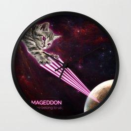 Meow-Mageddon Wall Clock