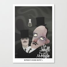 jekyll and hyde Canvas Print