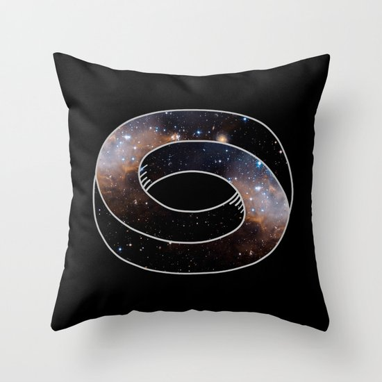 The Universe Cycle Throw Pillow