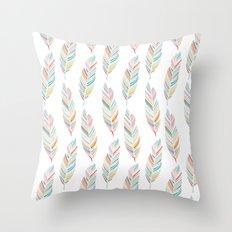 Feathered Throw Pillow