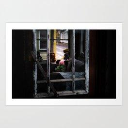 Untitled (Haapsalu window) Art Print