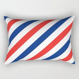 Barber Stripes Rectangular Pillow