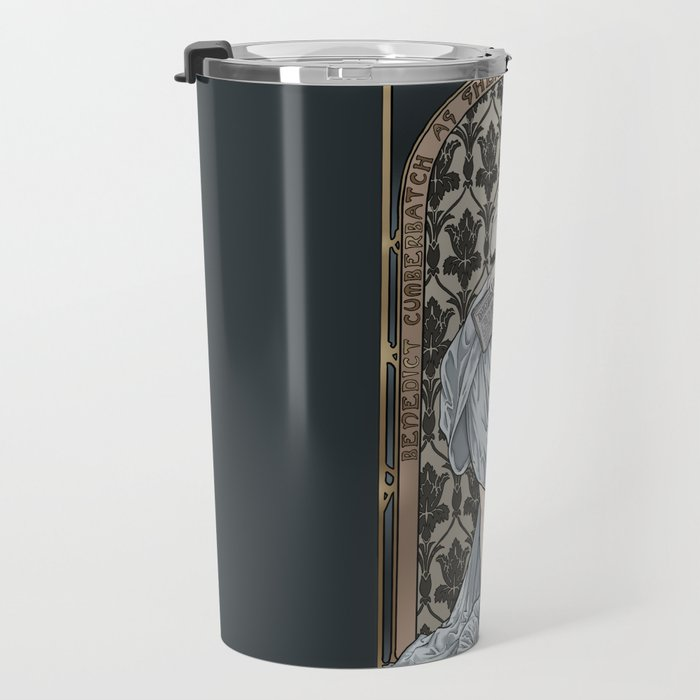 A Scandal in Belgravia - Mucha Style Travel Mug
