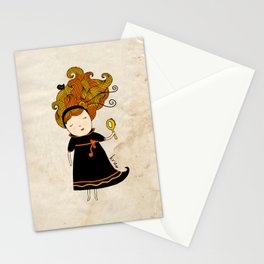 Virgo Girl Stationery Cards