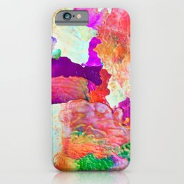 Abstract Melt I iPhone Case