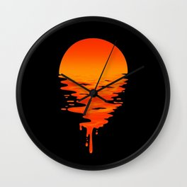 SUNSET 6 Wall Clock