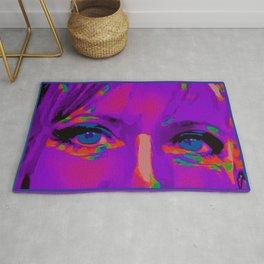 Debbie Purple Rug