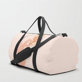 Abstraction_NAMASTE_LOVE_Minimalism_001 Duffle Bag