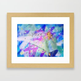 Chris Martin-Coldplay-Digital Impressionism Framed Art Print