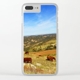 Carefree Clear iPhone Case